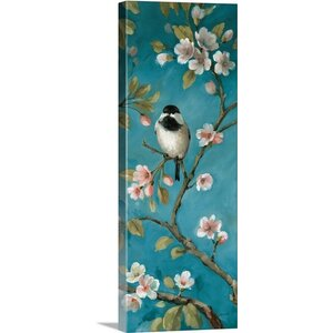 'Blossom IV' by Lisa Audit Painting Print on Wrapped Canvas by Great Big Canvas