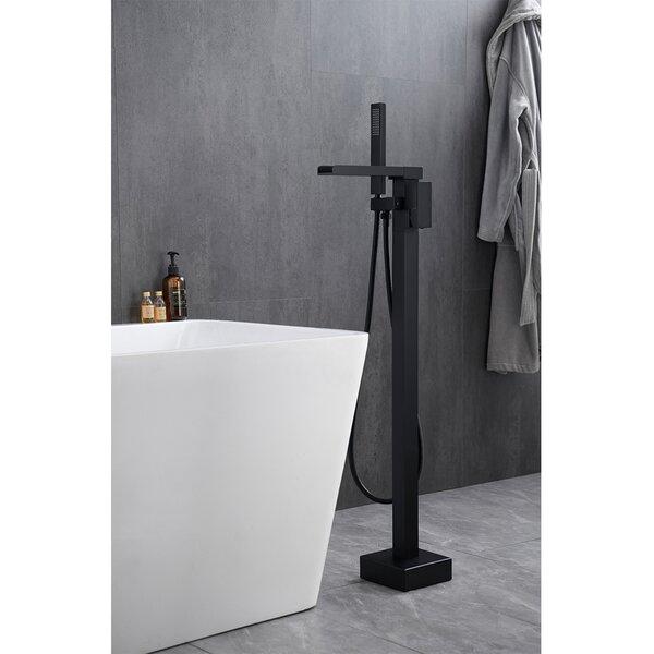 Single Handle Floor Mounted Freestanding Tub Filler Trim by MODLAND MODLAND