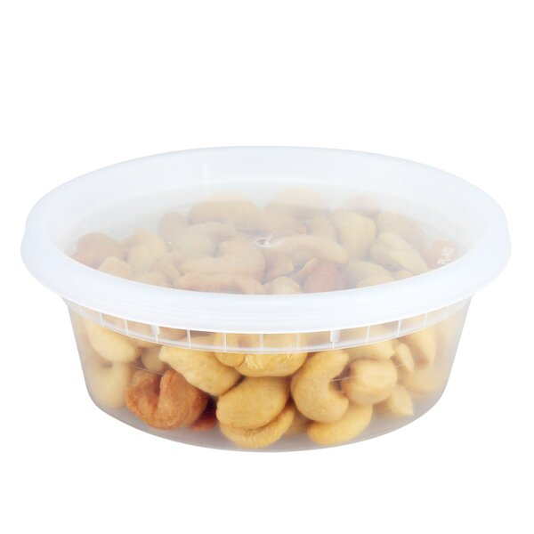 Reusable To Go 8 Oz. Food Storage Container (Set of 40) by Freshware
