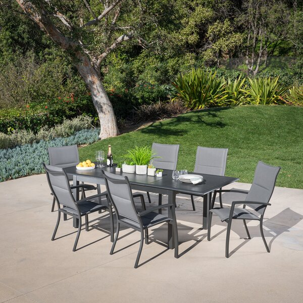 Bayshore 7 Piece Dining Set by Latitude Run