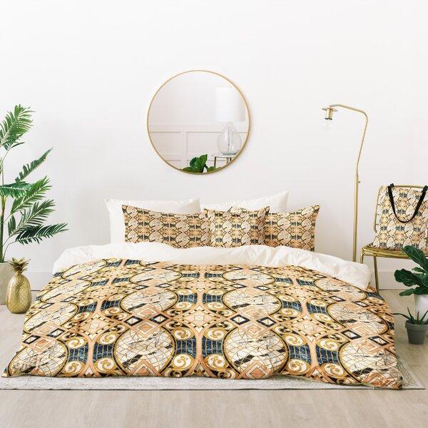 Marta Barragan Camarasa Mosaic Marble Art Deco Duvet Cover Set