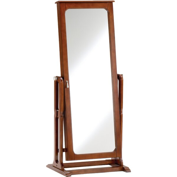 Hughesville Jewelry Armoire with Mirror by Darby Home Co