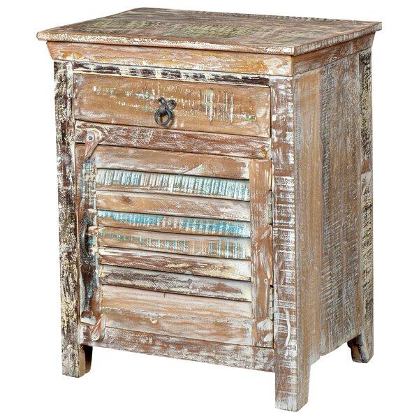 Desirae 1 Drawer Nightstand by Bloomsbury Market