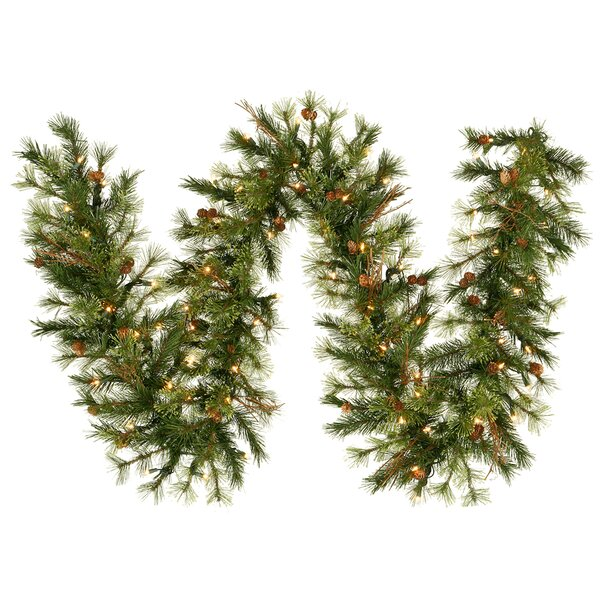 Mixed Country Pine Garland by The Holiday Aisle