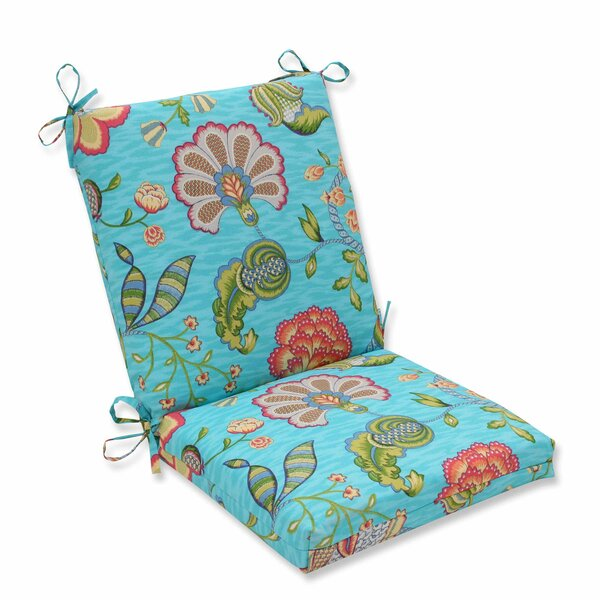 Arabella Indoor/Outdoor Dining Chair Cushion by Pillow Perfect
