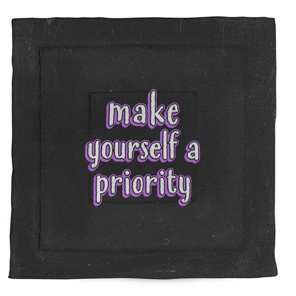 Self Love Quote Single Reversible Comforter