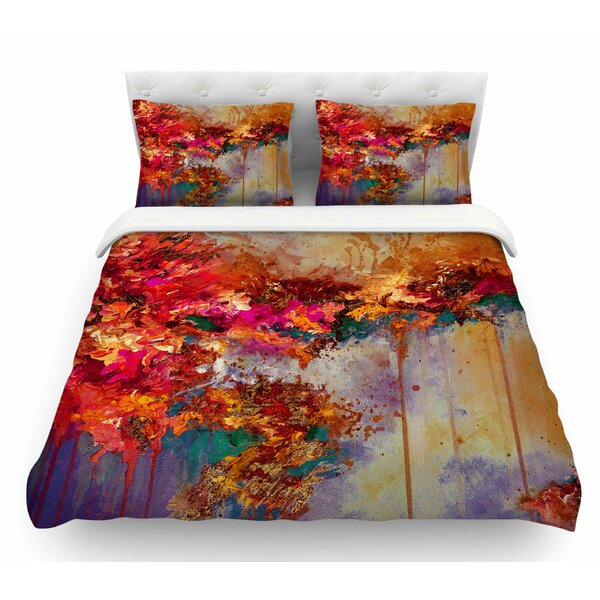 When Land Met Sky by Ebi Emporium Featherweight Duvet Cover by East Urban Home