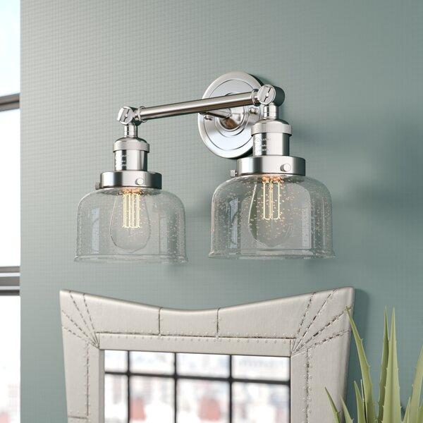 Adelhard Bell 2-Light Vanity Light by 17 Stories