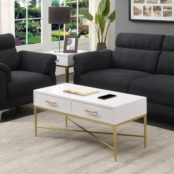 Heston 2 Piece Coffee Table Set by Everly Quinn Everly Quinn
