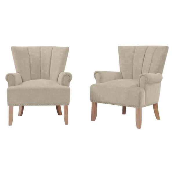 Rushden Armchair (Set of 2) by Gracie Oaks