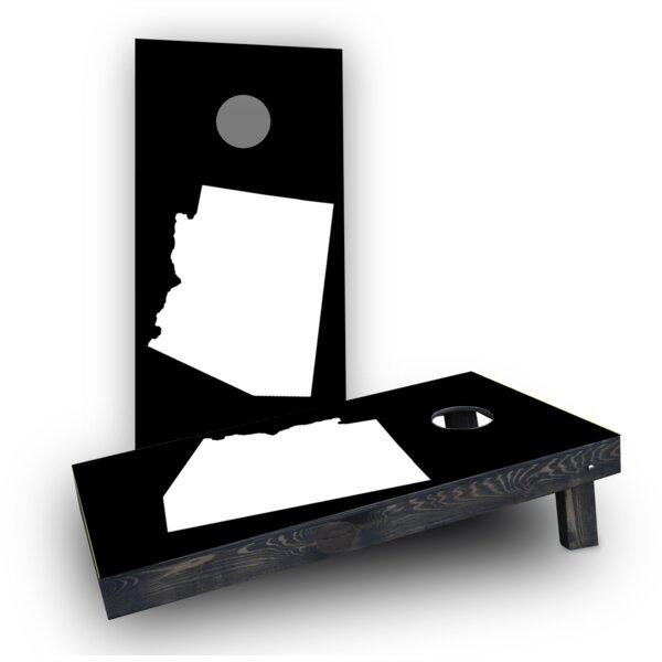 State Themed Cornhole Boards (Set of 2) by Custom Cornhole Boards