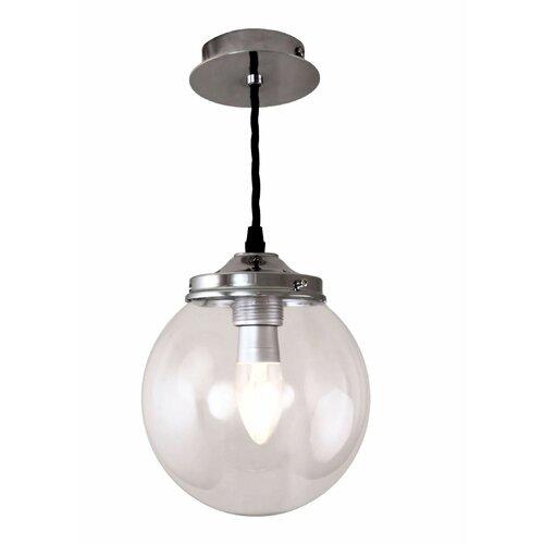 Louis 1 - Light Globe Pendant Latitude Run Size: 30cm H x 15cm W x 15cm D