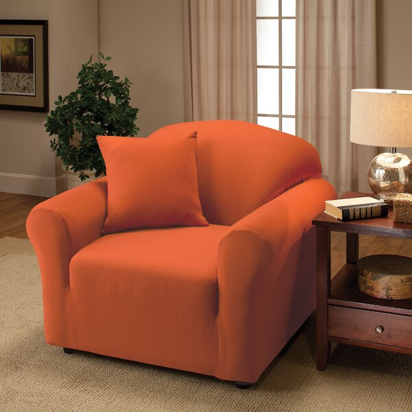 Box Cushion Armchair Slipcover by Andover Mills