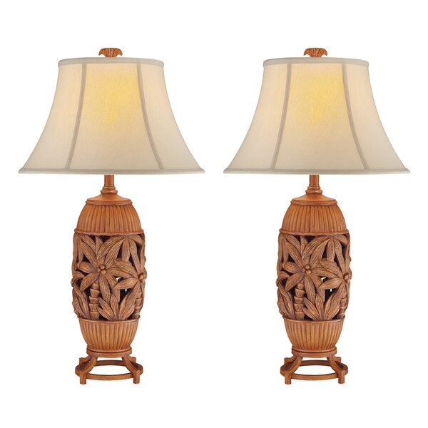 Reeves Palm Tree 32 Table Lamp (Set of 2) by Bay Isle Home
