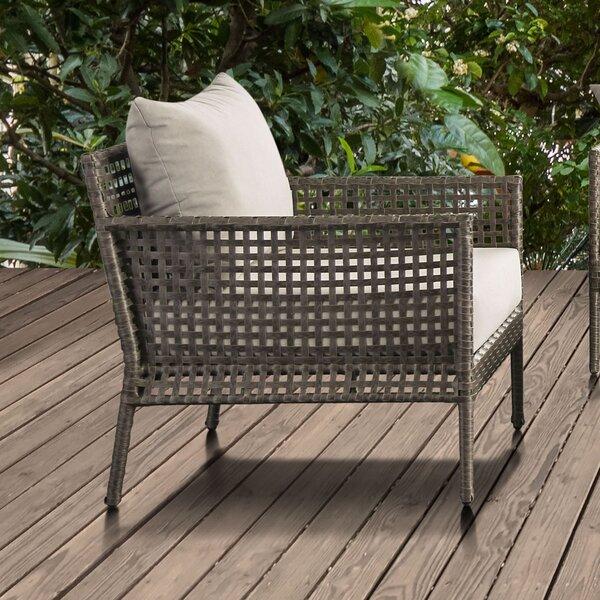 Barling Patio Chair with Cushions by Bay Isle Home Bay Isle Home
