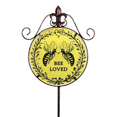 Exhart Bee Loved Garden Stake Wayfair