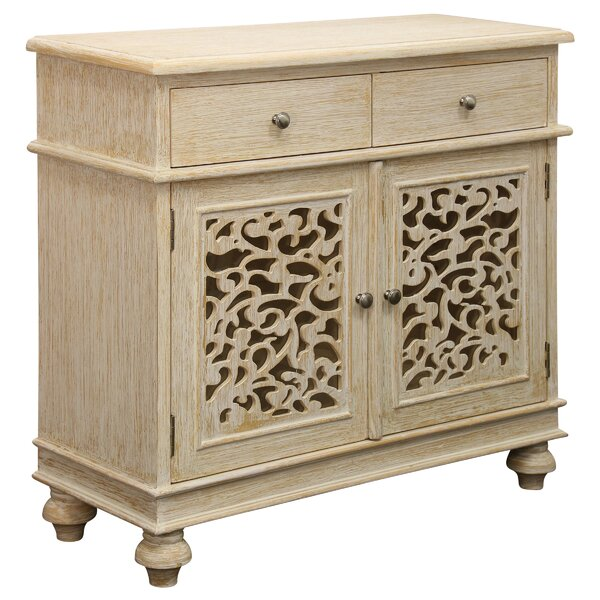 Brookmount 2 Drawer Accent Cabinet by Bungalow Rose Bungalow Rose