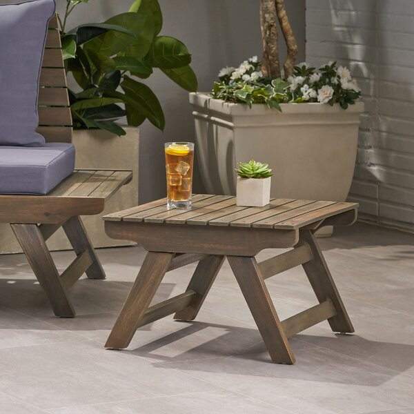 Bullock Outdoor Side Table by Longshore Tides