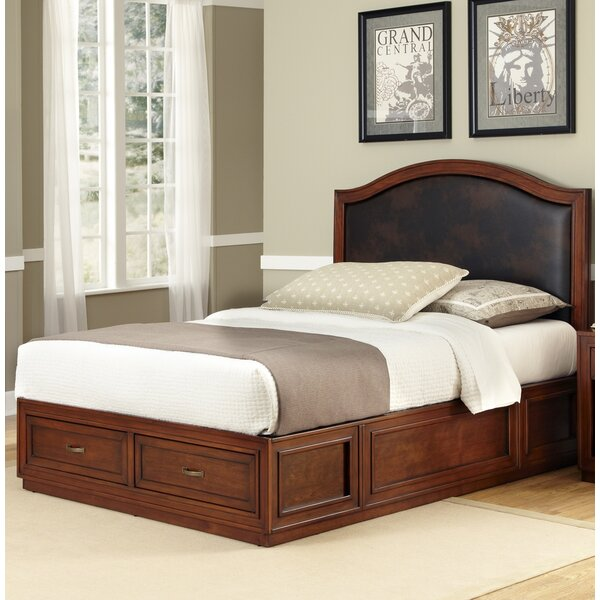 Myra Queen Upholstered Platform Bed by Darby Home Co