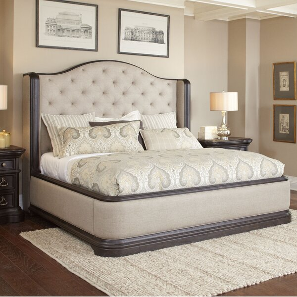 Ikin Upholstered Standard Bed by Canora Grey