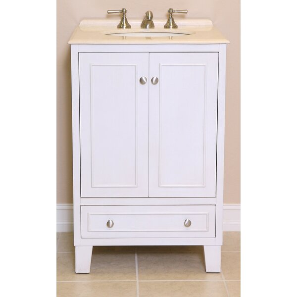 Minnie 24 Single Bathroom Vanity Set by B&I Direct Imports