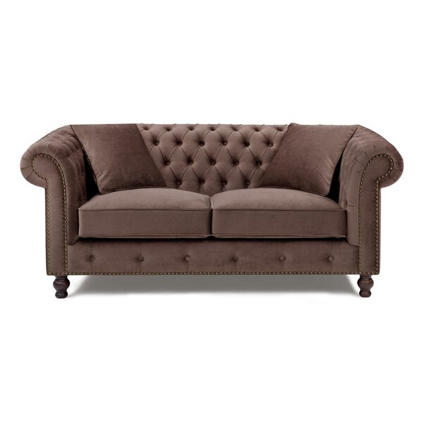 Microfiber Chesterfield Sofa by Noci Design