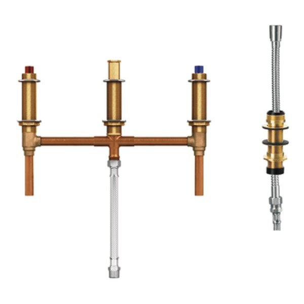M-Pact Roman Tub Valve with Shower Diverter with 1/2 CC Connection by Moen