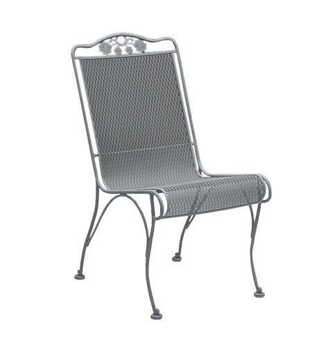 Briarwood High Back Patio Dining Chair by Woodard