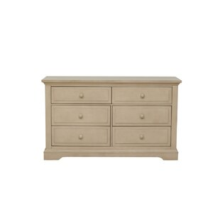 Chatham 6 Drawer Double Dresser by Centennial