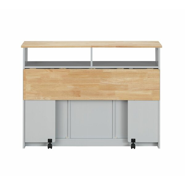 Chanhassen Kitchen Cart by Ebern Designs