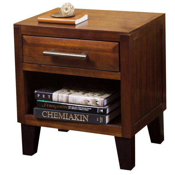 Davisson 1 Drawer Nightstand by Alcott Hill