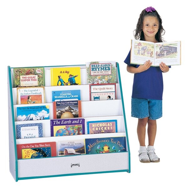 Rainbow Accents 5 Compartment Book Display by Jonti-Craft