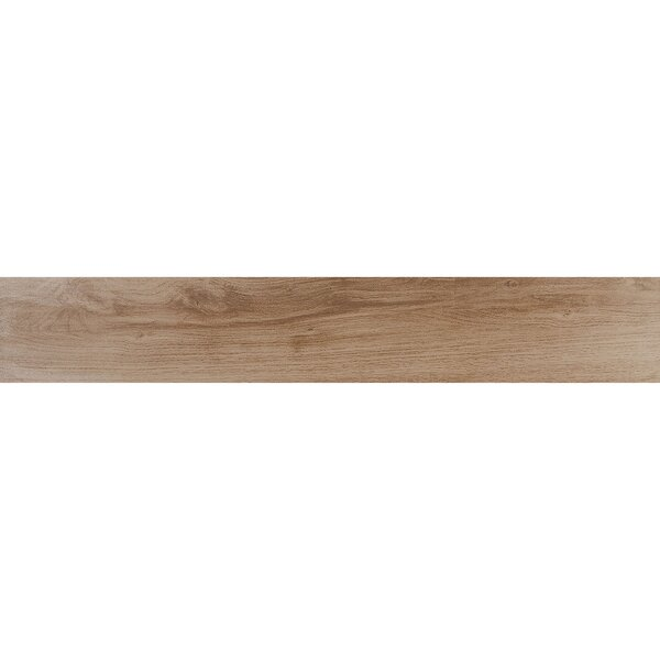 Bridgeport 6 x 36 Porcelain Wood Look Tile in Sugarmaple by Itona Tile