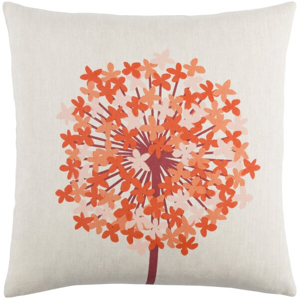 Kismet Agapanthus Throw Pillow by emma at home by Emma Gardner