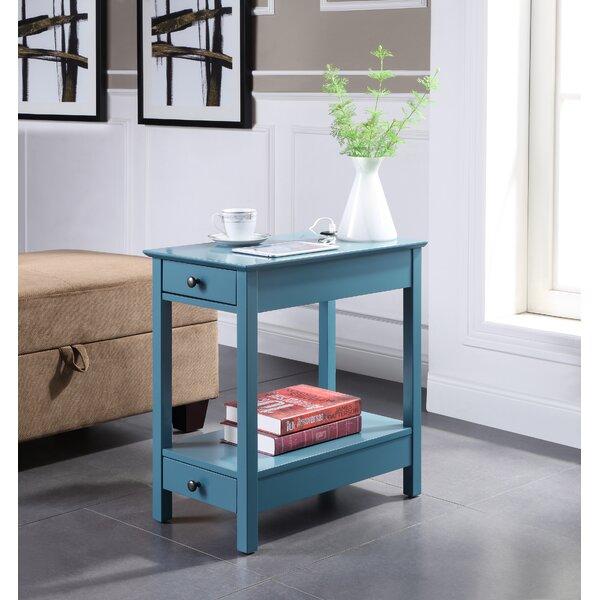 Cymone 2 Drawer End Table By Ebern Designs