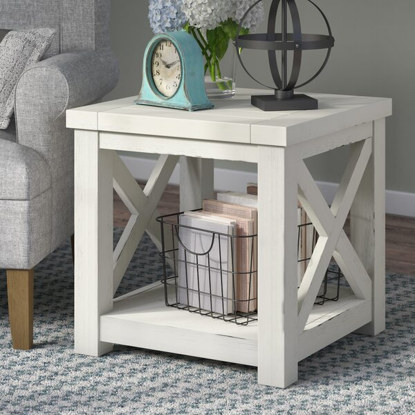 Moravia End Table by Laurel Foundry Modern Farmhouse