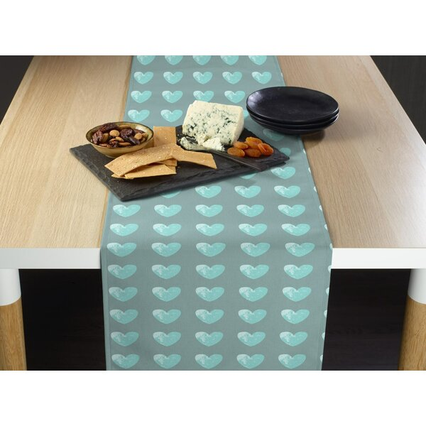 Mccants Hearts Table Runner by Latitude Run