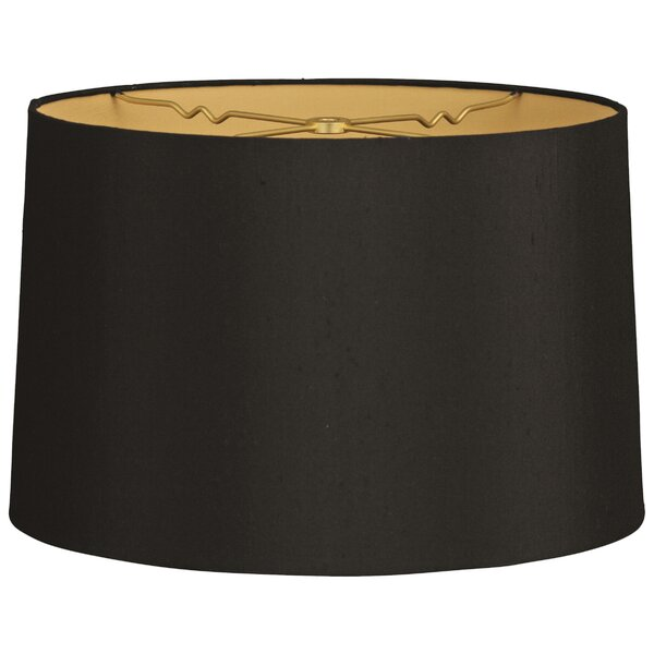14 Shantung Drum Lamp Shade by Alcott Hill