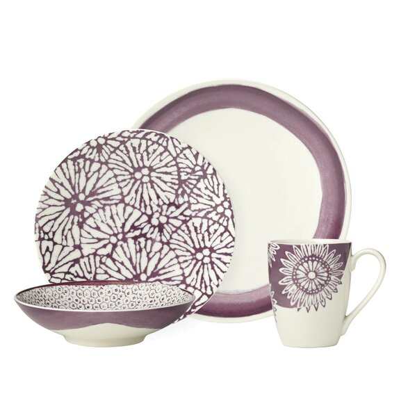 Market Pantry 4 Piece Place Setting Set, Service for 1 by Lenox