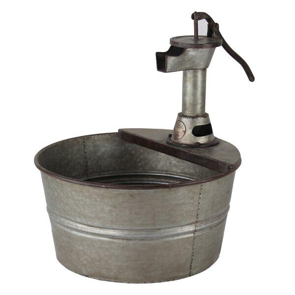 Metal Pot Planter by American Mercantile