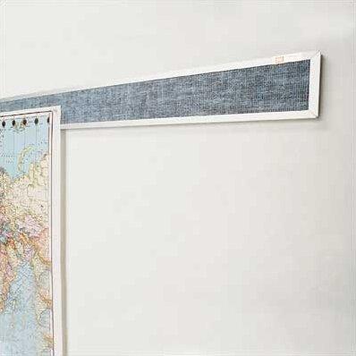 Vinyl Covered Display Rails - Aluminum Frame by Best-Rite®