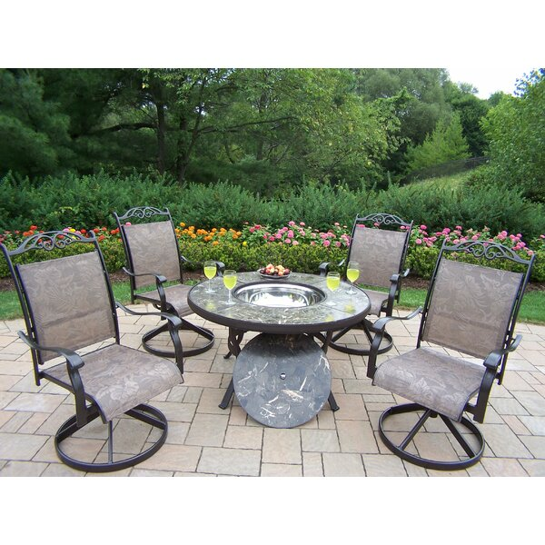 Neche 5 Piece Conversation Set by Winston Porter