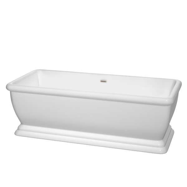 Candace 68.5 x 31 Soaking Bathtub by Wyndham Collection