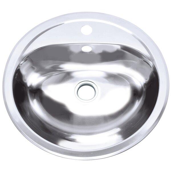 Layer Tank Metal Circular Undermount Bathroom Sink by Yosemite Home Decor