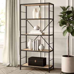 Reviews Macon Etagere Bookcase By Greyleigh
