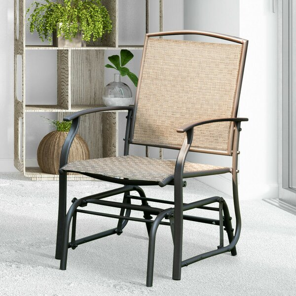 Holle Patio Swing Chair Rocking by Winston Porter