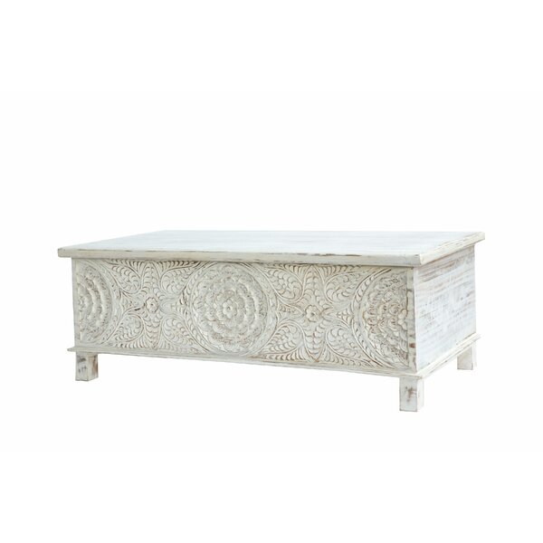 Ivaan Trunk Coffee Table With Lift Top By Bungalow Rose