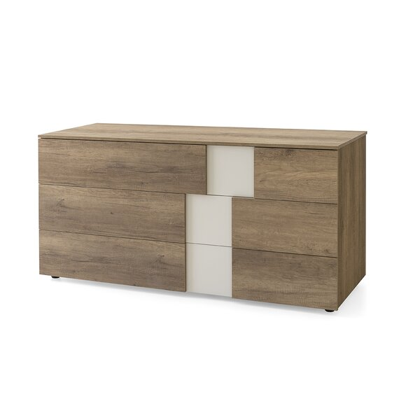 Utah 6 Drawer Dresser by Calligaris