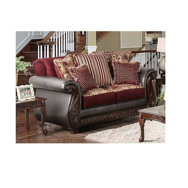 Best Reviews Tryphosa Loveseat by Astoria Grand