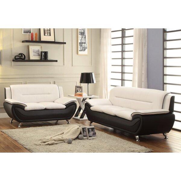 Naumann 2 Piece Living Room Set by Orren Ellis